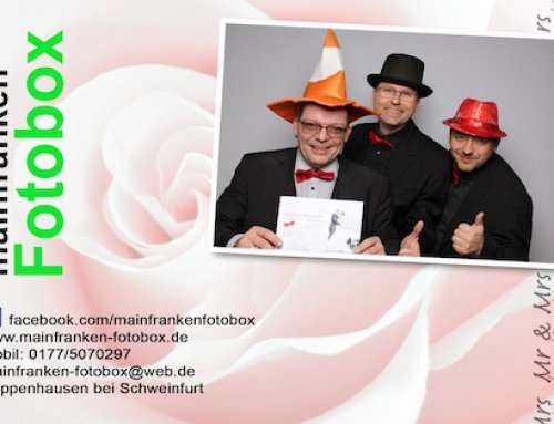 Fotobox mieten in Bad Kissingen